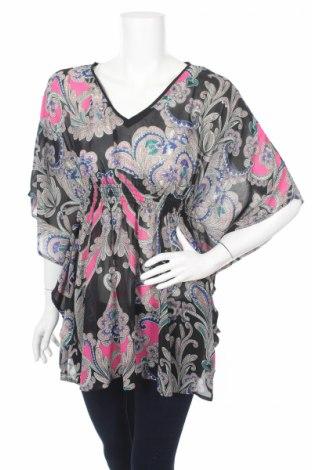 Дамска блуза Nicole by Nicole Miller, Размер XS, Цвят Многоцветен, Полиестер, Цена 6,80лв.