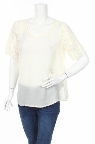 Γυναικεία μπλούζα Rainbow, Μέγεθος M, Χρώμα Εκρού, Πολυεστέρας, Τιμή 3,79€