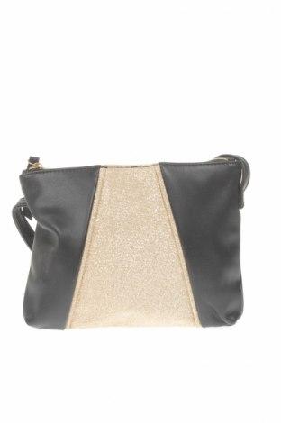 Γυναικεία τσάντα Eac, Χρώμα Μαύρο, Δερματίνη, Τιμή 5,38€