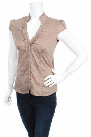 Дамска риза, Размер M, Цвят Кафяв, Цена 7,25лв.
