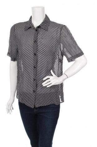 Дамска риза, Размер M, Цвят Черен, Вискоза, Цена 4,25лв.