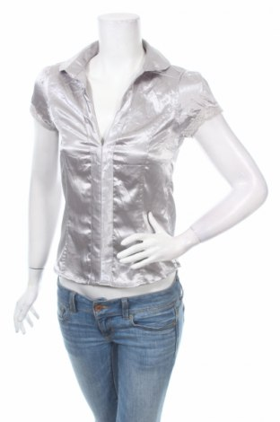 Γυναικείο πουκάμισο, Μέγεθος S, Χρώμα Γκρί, Τιμή 3,27€