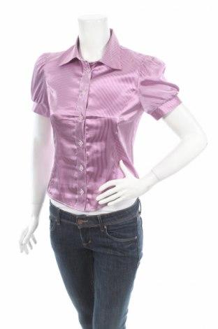 Дамска риза Andrews, Размер XS, Цвят Лилав, 67% вискоза, 30% полиестер, 3% еластан, Цена 5,72лв.