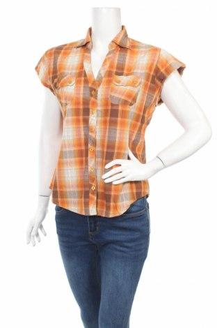 Γυναικείο πουκάμισο B Casual, Μέγεθος L, Χρώμα Πολύχρωμο, 100% πολυεστέρας, Τιμή 3,47€