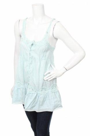 Дамска риза Sorbet, Размер S, Цвят Син, Памук, Цена 5,06лв.