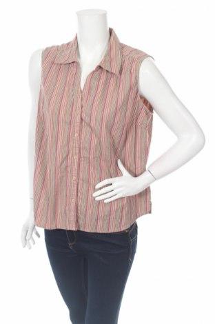 Дамска риза St. John's Bay, Размер XL, Цвят Многоцветен, 97% памук, 3% еластан, Цена 4,25лв.