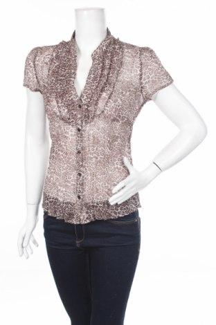 Γυναικείο πουκάμισο Yessica Pure, Μέγεθος M, Χρώμα Καφέ, Τιμή 3,67€