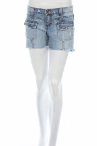 Дамски къс панталон Authentic Style, Размер S, Цвят Син, Цена 8,28лв.