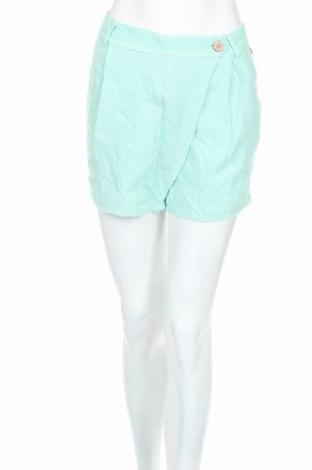 Dámske kraťasy  Rinascimento, Veľkosť M, Farba Zelená, Ľan, Cena  16,86€
