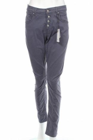 Дамски панталон Soya Concept, Размер L, Цвят Сив, 97% памук, 3% еластан, Цена 65,65лв.