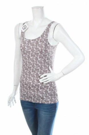 Γυναικείο αμάνικο μπλουζάκι Ellen Tracy, Μέγεθος S, Χρώμα Γκρί, 94% βαμβάκι, 6% ελαστάνη, Τιμή 3,87€