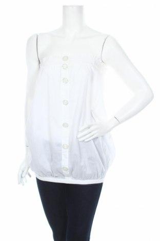 Дамски потник Outfitters Nation, Размер XS, Цвят Бял, Памук, Цена 4,94лв.