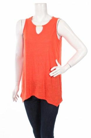 Γυναικείο αμάνικο μπλουζάκι Suzanne Grae, Μέγεθος S, Χρώμα Πορτοκαλί, Πολυεστέρας, βισκόζη, Τιμή 2,48€