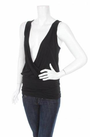 Γυναικείο αμάνικο μπλουζάκι Talula, Μέγεθος XS, Χρώμα Μαύρο, 52% βαμβάκι, 48% μοντάλ, Τιμή 2,97€