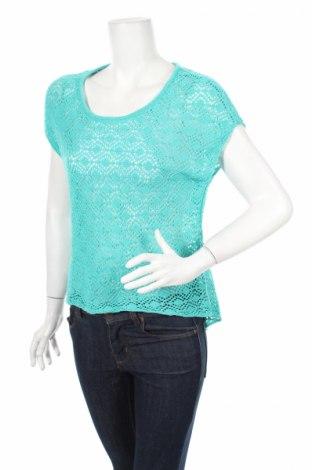 Дамски пуловер Attrattivo, Размер M, Цвят Син, Акрил, Цена 6,50лв.