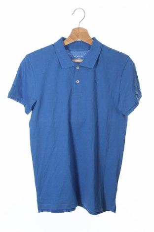 Детска тениска Review, Размер 14-15y/ 168-170 см, Цвят Син, Памук, Цена 10,85лв.