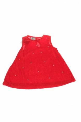 Детска туника, Размер 12-18m/ 80-86 см, Цвят Червен, Полиестер, Цена 4,20лв.