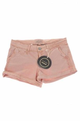 Pantaloni scurți de copii Review, Mărime 13-14y/ 164-168 cm, Culoare Violet deschis, 98% bumbac, 2% elastan, Preț 34,57 Lei