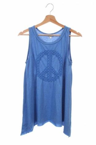 Detské tielko  Review, Veľkosť 13-14y/ 164-168 cm, Farba Modrá, 60% bavlna, 40% polyester, Cena  4,69€