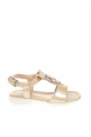 Detské sandály   Tod's, Veľkosť 20, Farba Zlatistá, Pravá koža , Cena  56,47€