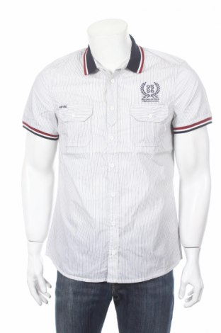Pánska košeľa  98-86, Veľkosť M, Farba Biela, 65% polyester, 35% bavlna, Cena  2,99€