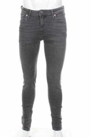 Мъжки дънки Jack & Jones, Размер M, Цвят Сив, 98% памук, 2% еластан, Цена 63,70лв.