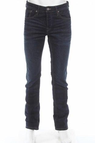 Мъжки дънки Jack & Jones, Размер M, Цвят Син, 99% памук, 1% еластан, Цена 63,70лв.