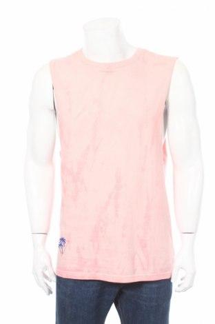 Ανδρική αμάνικη μπλούζα Review, Μέγεθος S, Χρώμα Ρόζ , 100% βαμβάκι, Τιμή 3,43€