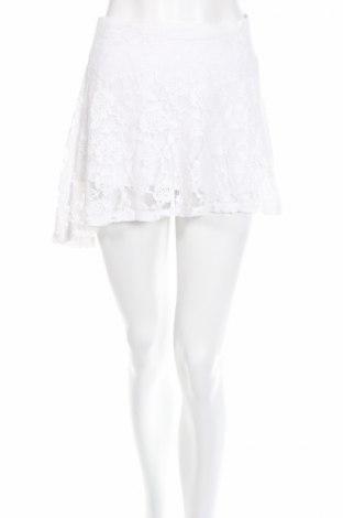 Sukňa Abercrombie & Fitch, Veľkosť XS, Farba Biela, 6% bavlna, 34% polyamide, Cena  3,66€