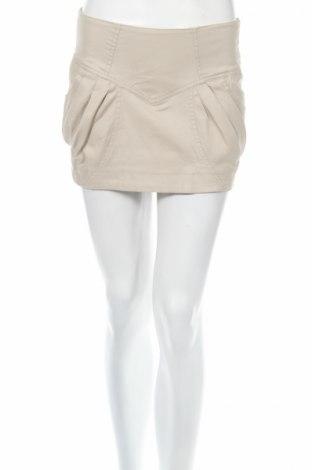 Φούστα Ann Christine, Μέγεθος XS, Χρώμα  Μπέζ, 98% βαμβάκι, 2% ελαστάνη, Τιμή 3,87€