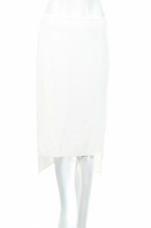Пола Bcbg Max Azria, Размер S, Цвят Бял, 100% полиестер, Цена 68,90лв.