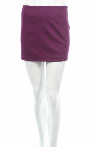 Sukně Diane Von Furstenberg, Rozměr XXS, Barva Fialová, 80% vlna, 17% polyamide, 3% elastan, Cena  2987,00Kč