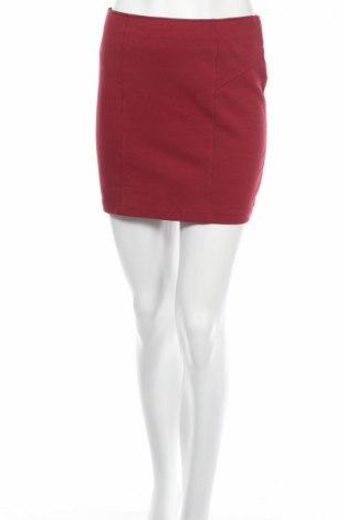 Пола Pimkie, Размер M, Цвят Червен, 70% памук, 27% полиестер, 3% еластан, Цена 5,50лв.