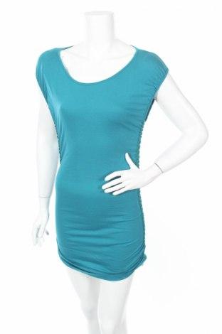 Рокля De.corp By Esprit, Размер XS, Цвят Син, 50% памук, 50% модал, Цена 5,20лв.