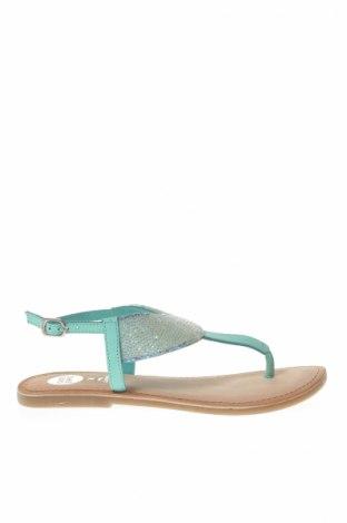 Sandále Gioseppo, Veľkosť 36, Farba Zelená, Pravá koža , textil, Cena  16,24€