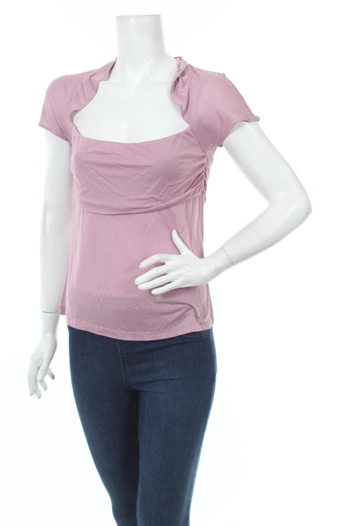 Γυναικεία μπλούζα Red Valentino, Μέγεθος M, Χρώμα Βιολετί, Βισκόζη, Τιμή 163,30€