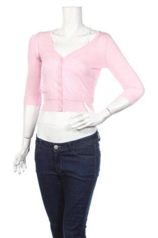 Bolero  Zara, Veľkosť M, Farba Ružová, 50% bavlna, 30% elastan, 20% vlna, Cena  19,45€