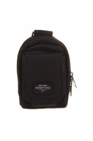 Τσάντα Schott, Χρώμα Μαύρο, Κλωστοϋφαντουργικά προϊόντα, Τιμή 25,23€