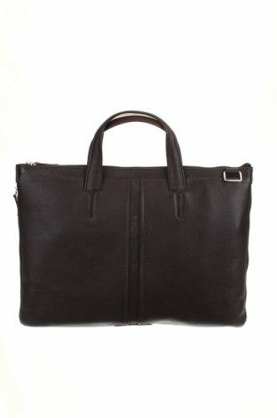 Чанта за лаптоп Piquadro, Цвят Кафяв, Естествена кожа, Цена 197,45лв.