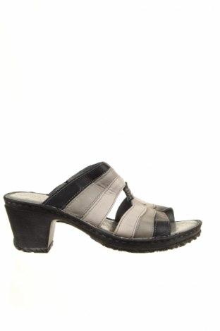 Papuci de casă Josef Seibel, Mărime 41, Culoare Gri, Piele naturală, Preț 184,73 Lei