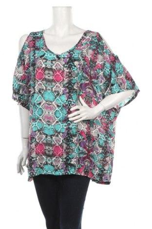 Дамска блуза Alexia, Размер XXL, Цвят Многоцветен, Полиестер, Цена 4,46лв.