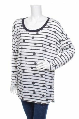 Дамска блуза Alexia, Размер XXL, Цвят Бял, Полиестер, вискоза, еластан, Цена 4,46лв.
