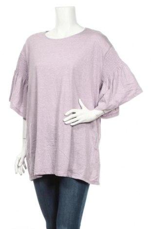 Дамска блуза Alexia, Размер XXL, Цвят Лилав, 60% памук, 40% полиестер, Цена 6,83лв.