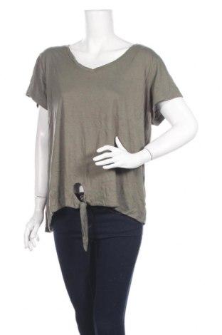 Дамска блуза Alexia, Размер XXL, Цвят Зелен, Памук, модал, Цена 4,20лв.