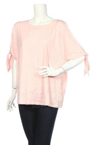 Дамска блуза Alexia, Размер XXL, Цвят Розов, 50% модал, 50% памук, Цена 4,20лв.