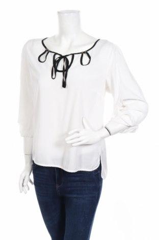 Дамска блуза Anna Scott, Размер M, Цвят Бял, 97% полиестер, 3% полиуретан, Цена 20,40лв.