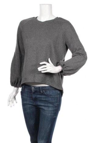 Дамска блуза Atmos & Here, Размер M, Цвят Сив, 65% полиестер, 35% памук, Цена 17,64лв.