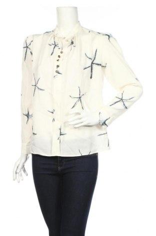 Bluză de femei Bgn Workshop, Mărime M, Culoare Ecru, 97% mătase, 3% elastan, Preț 83,37 Lei