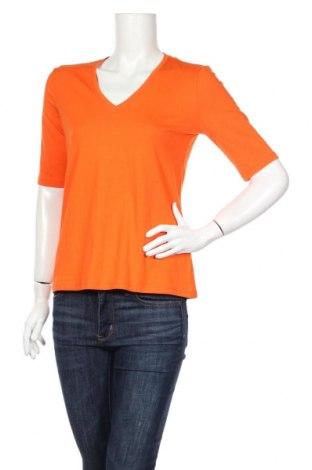 Γυναικεία μπλούζα Canda, Μέγεθος S, Χρώμα Πορτοκαλί, 49% βαμβάκι, 43% μοντάλ, 8% ελαστάνη, Τιμή 1,86€