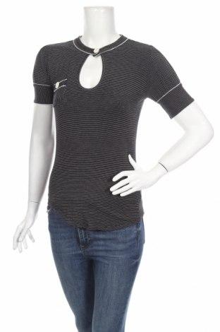 Дамска блуза French Connection, Размер S, Цвят Син, 97% вискоза, 3% еластан, Цена 22,88лв.